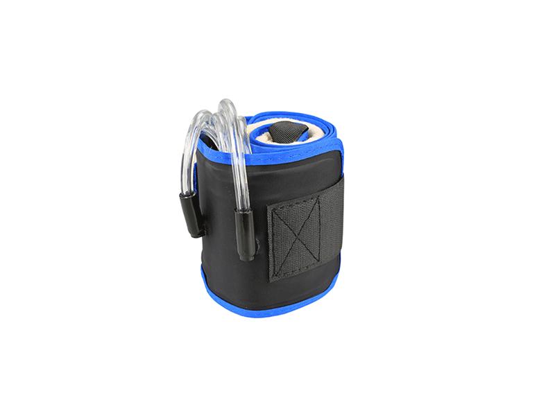 Bandage médical recyclant monotrou bleu