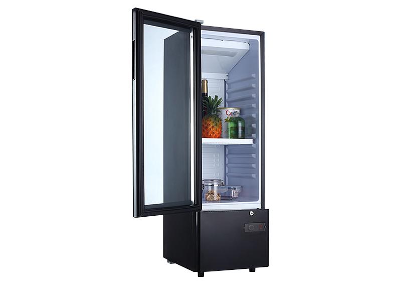 Refroidisseur à vin mini réfrigérateur à porte vitrée