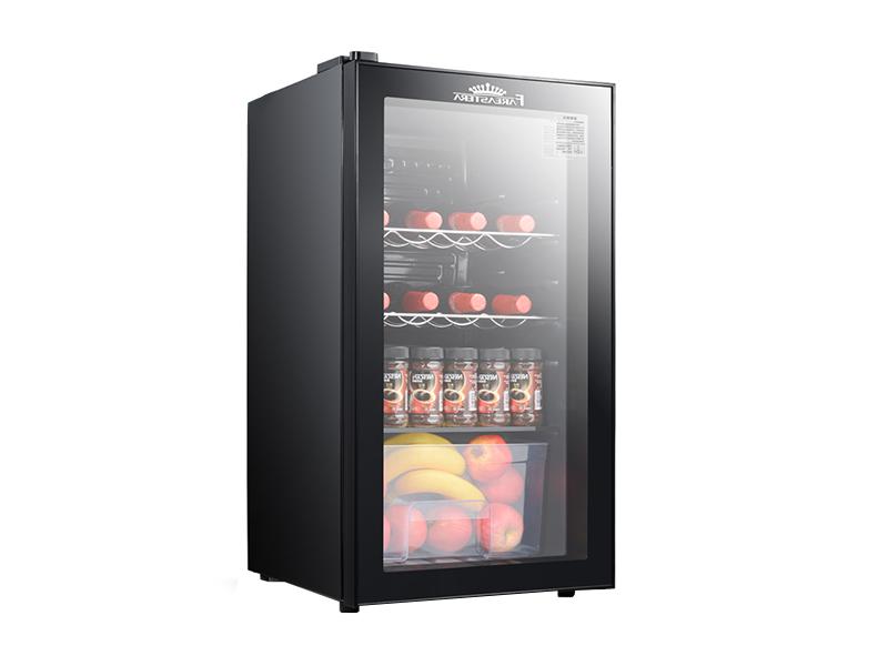 Porte vitrée mini réfrigérateur à vin refroidisseur (paragraphe ordinaire)